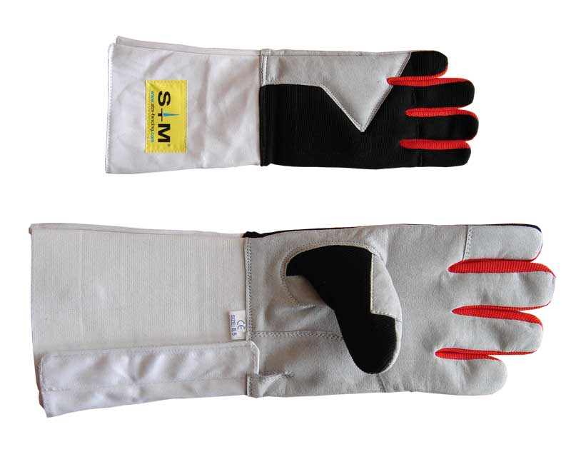 Combi Gloves Red (Blue) Grey